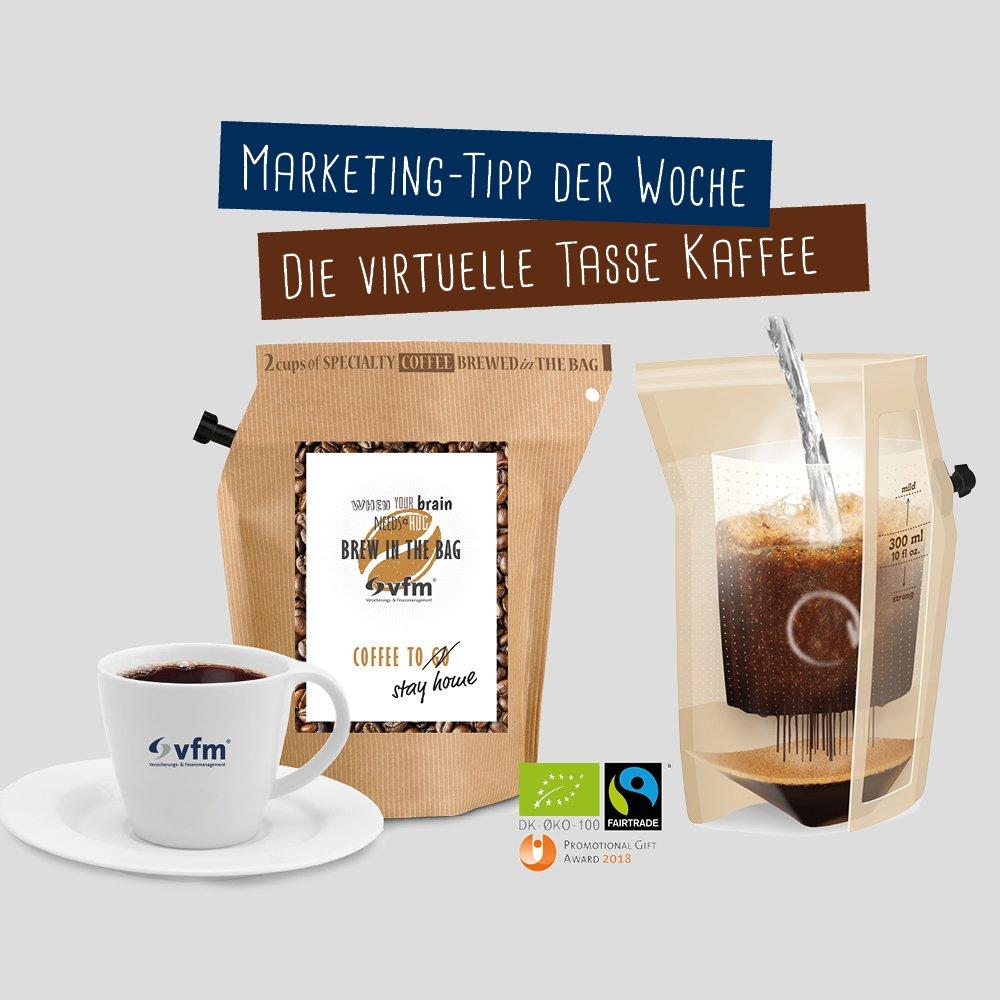 Kaffee für Onlineberatung